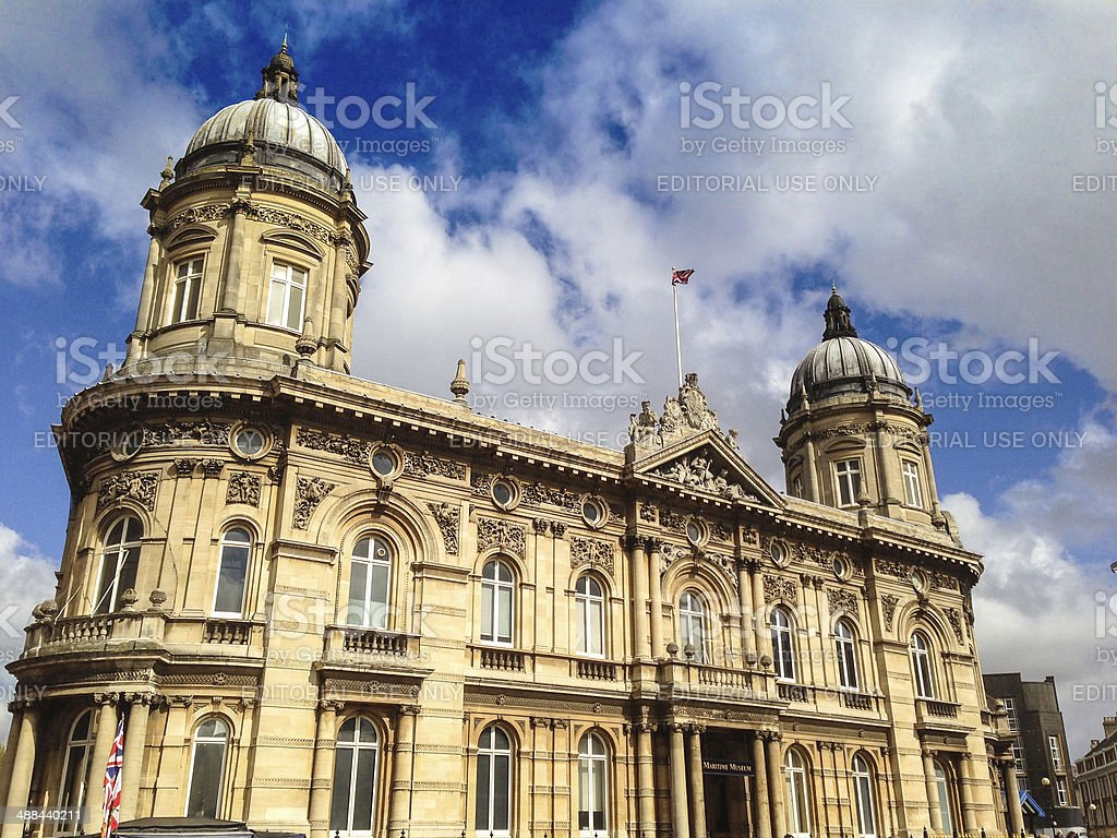 Hull city maritime museum stock photo