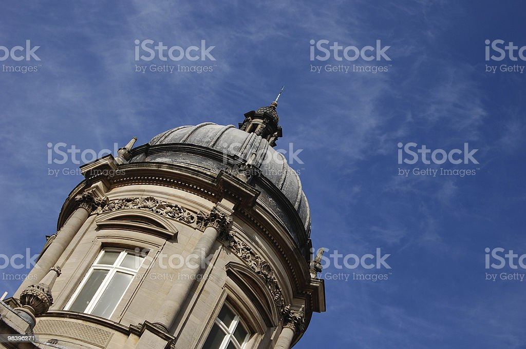 Hull Maritime Museum Dome royalty-free stock photo