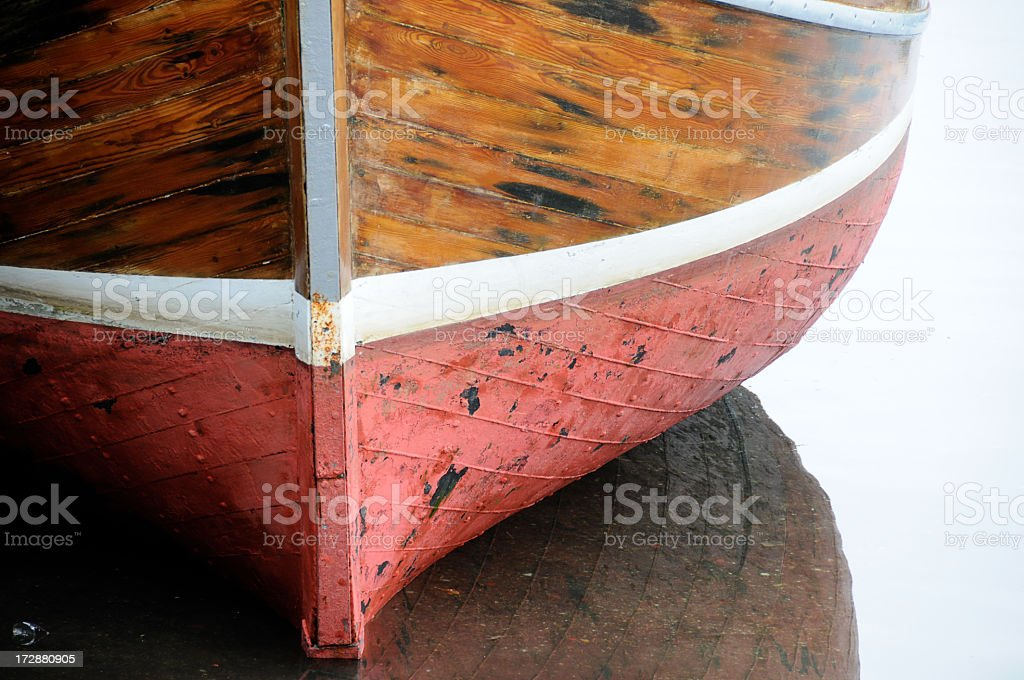 Hull of Fishing Boat 2 stock photo