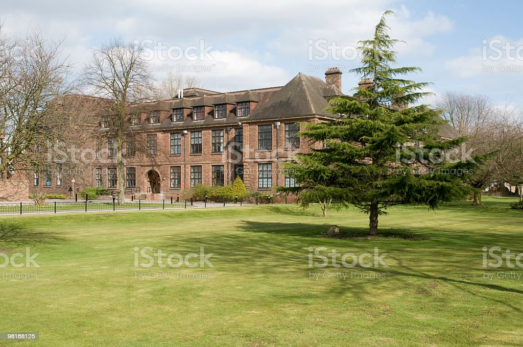 Hull University campus royalty-free stock photo