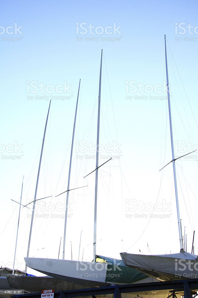 Hulls Up royalty-free stock photo