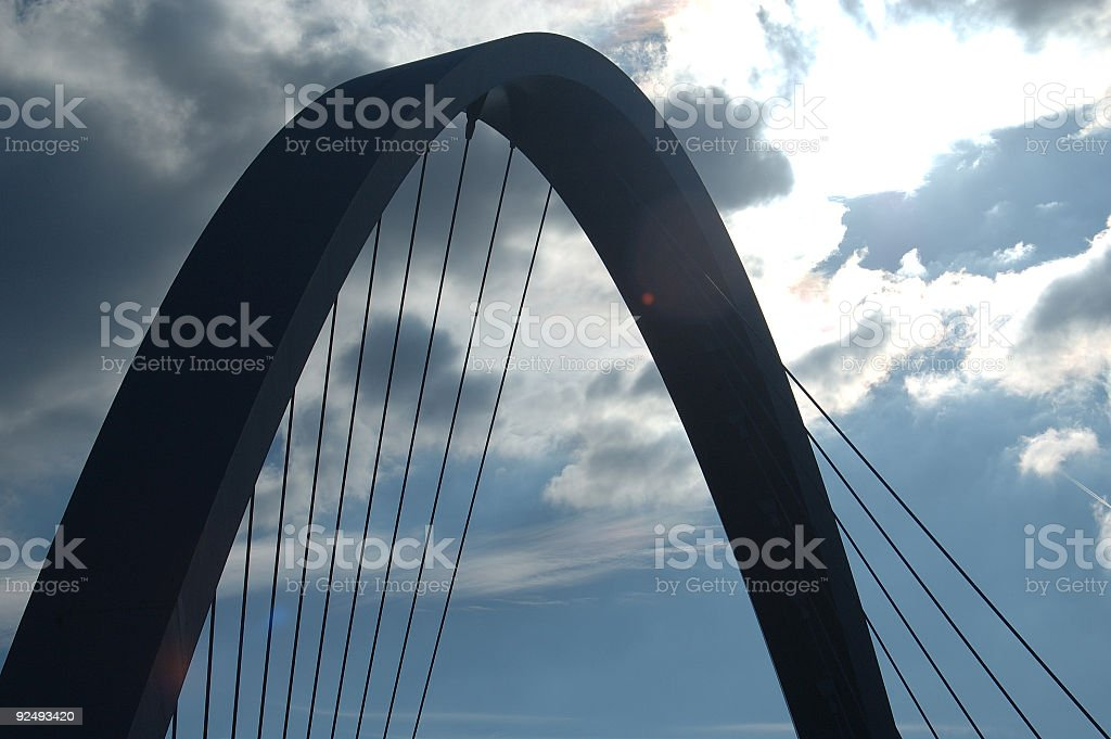 Hulme bridge, Manchester royalty-free stock photo