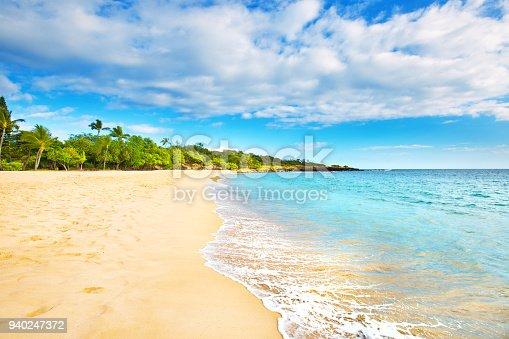 istock Hulopoe Beach of Lanai Island in Hawaii 940247372