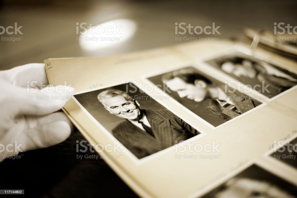 Hulton archive portraits. stock photo