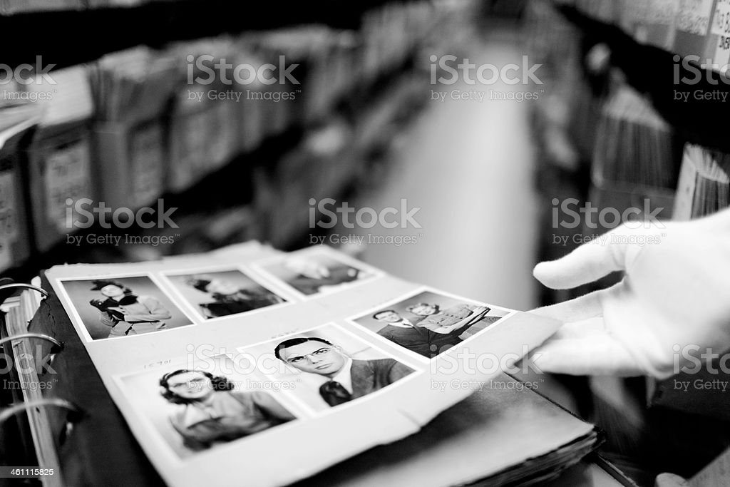 Hulton archive portraits. royalty-free stock photo