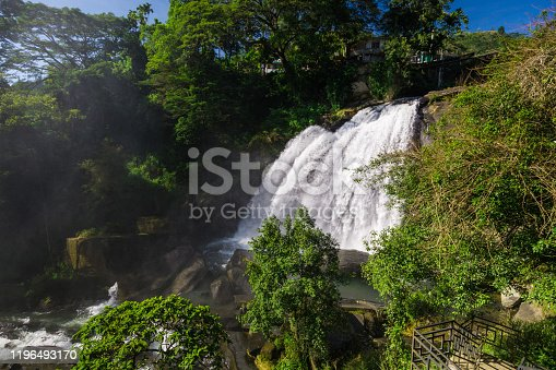 Huluganga Falls is a waterfall located at Huluganga Town,in Kandy District in Sri Lanka. Hulu River is originating from the Knuckles Mountain Range.