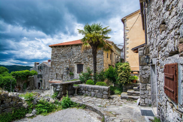Hum, Istrien, Kroatien – Foto