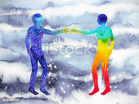 653098388istockphoto human and universe power, watercolor painting, chakra reiki, mastermind abstract thought, world, universe inside your mind 653098344