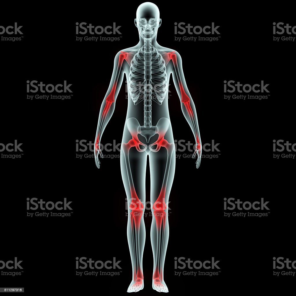 Human Body Joint Pains stock photo