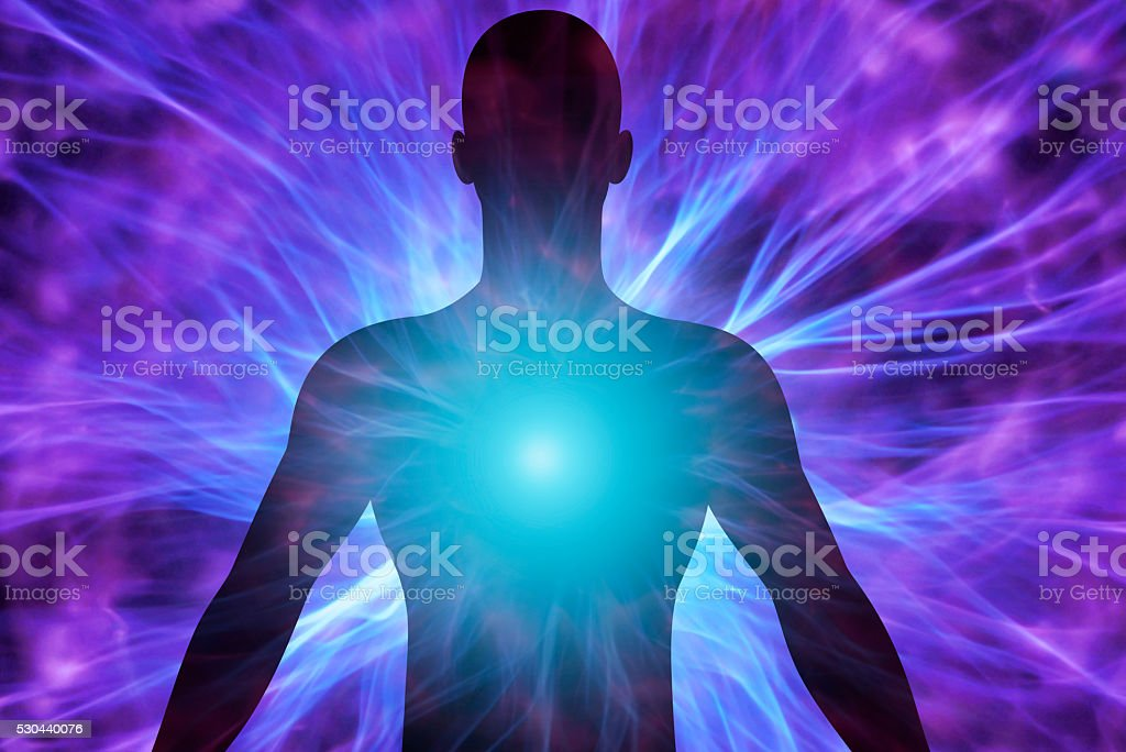 Human body stock photo
