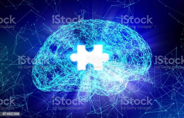 Human brain and jigsaw for alzheimers disease in the form of for picture id974902356?b=1&k=6&m=974902356&s=612x612&h=fnprraw5onlp bqfmiyriszk qm13xspyyx1gu3t hi=