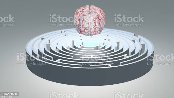 Human brain hovers over circular maze picture id954563746?b=1&k=6&m=954563746&s=612x612&h=v lbl0 gzci574kwccsohnvwfrvowb4vdoq4o9wyhx8=