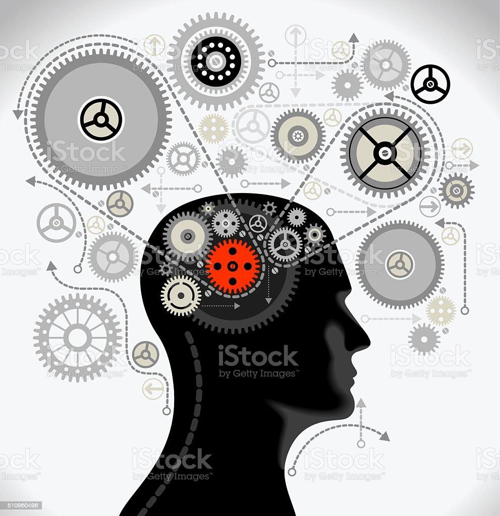 Cerveau humain est un superordinateur - Photo