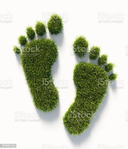 Human carbon footprint symbol made of green grass green energy picture id875081324?b=1&k=6&m=875081324&s=612x612&h=8wbb3g kgiyc39o8zm1t98dmu4ylspfbjhggwmfspmm=