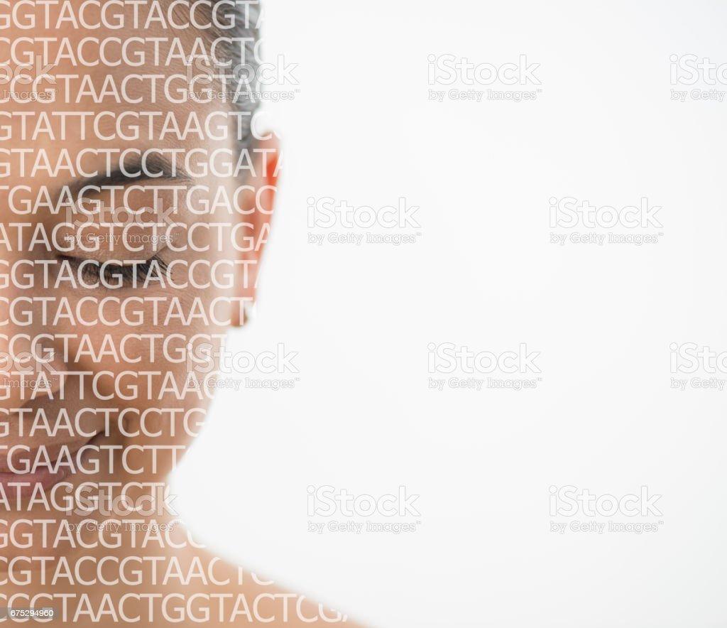 El ADN humanos - Foto de stock de ADN libre de derechos
