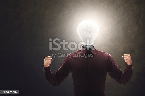 istock Human electric power 865452542
