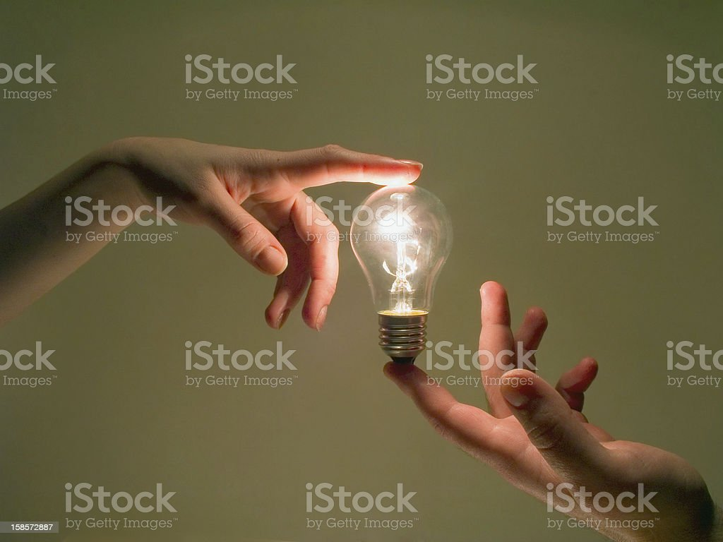 human energy concept stock photo
