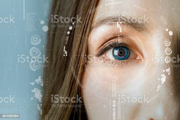Human eye and graphical interface smart contact lens concept picture id824082904?b=1&k=6&m=824082904&s=612x612&h=azbjvtlmkstdhrdgxed78wcspb ukhuwpt zlshzjqw=