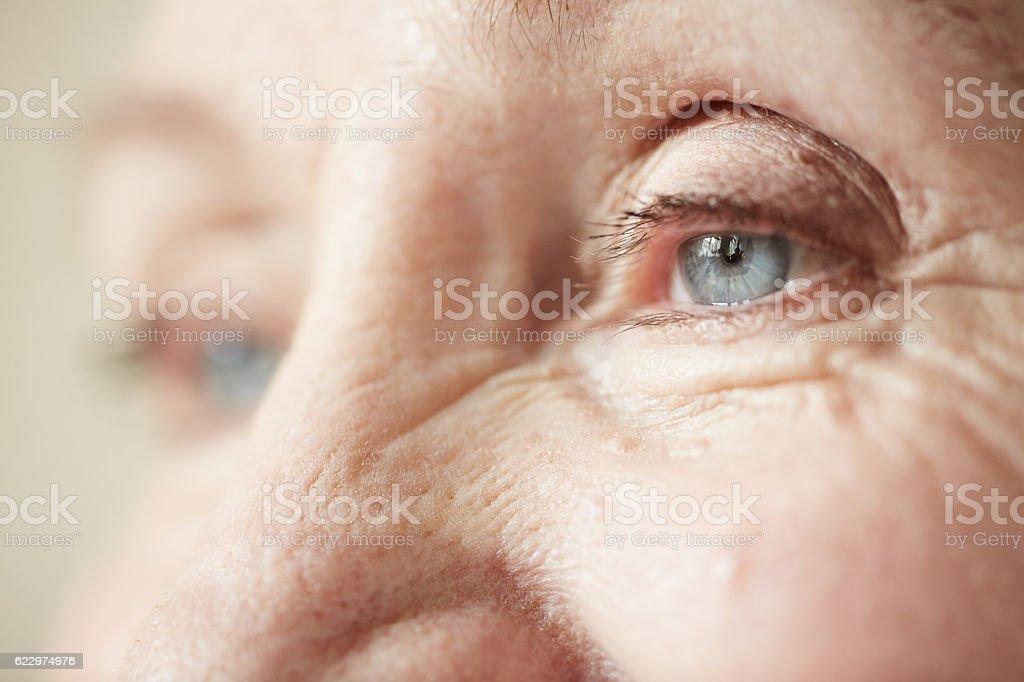 Menschliches Auge Lizenzfreies stock-foto