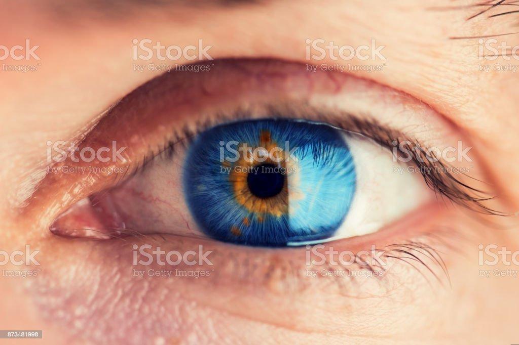 Menschliches Auge – Foto