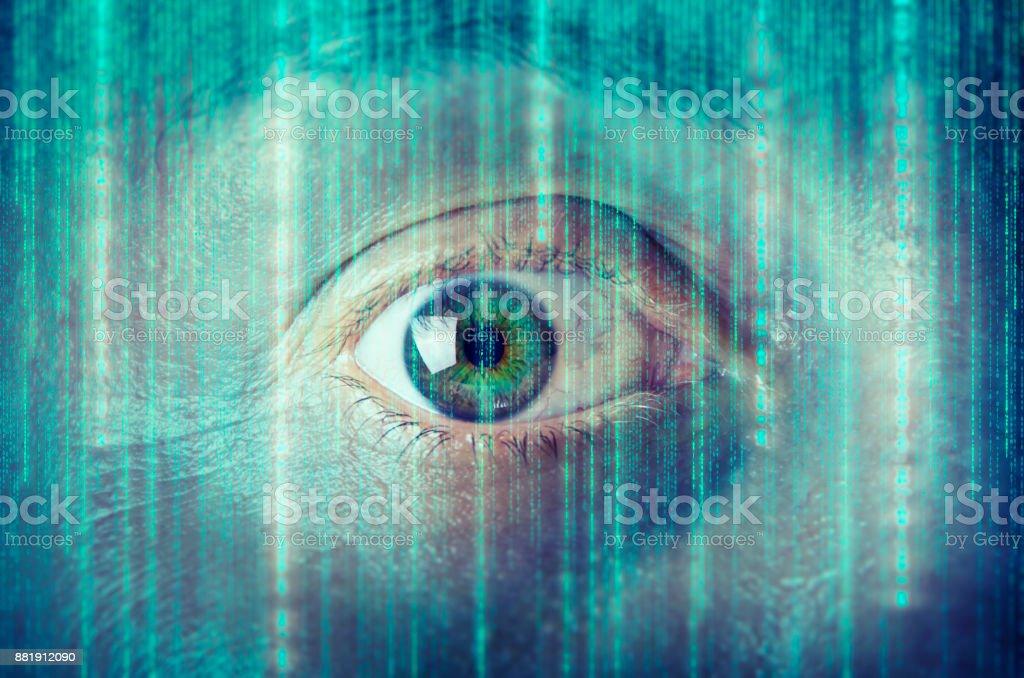 Olho Humano - foto de acervo
