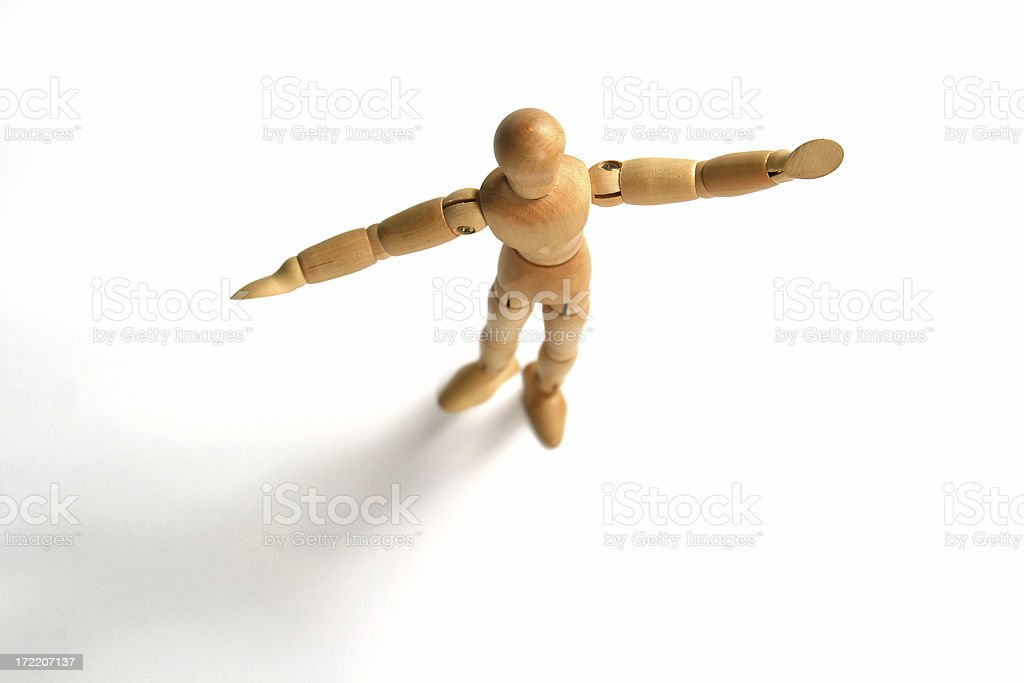 human figure royalty-free stock photo