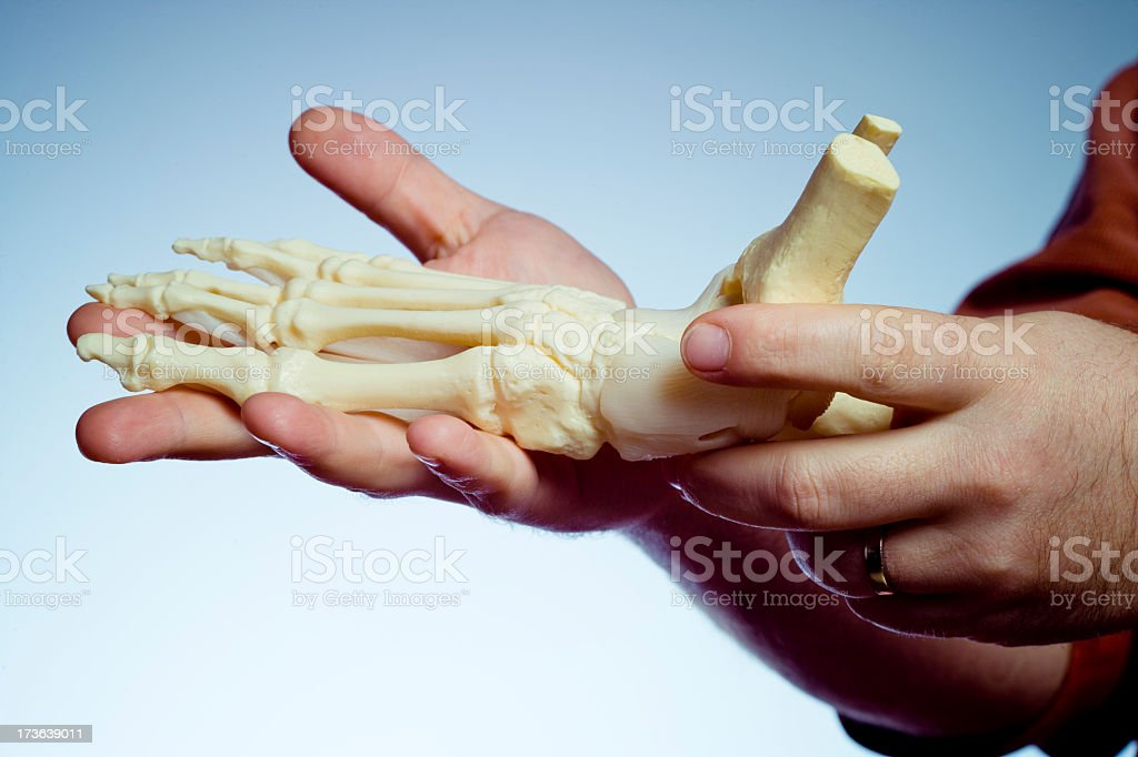 Human foot royalty-free stock photo