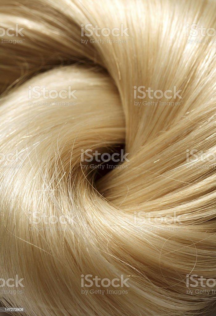 human hair royalty-free stock photo