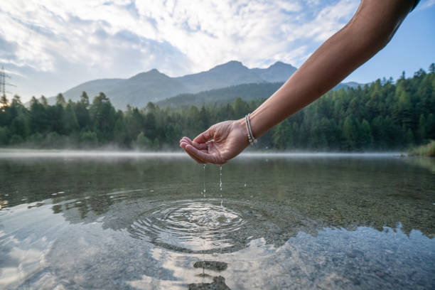 Human hand cupped to catch fresh water from mountain lake switzerland picture id1090252176?b=1&k=6&m=1090252176&s=612x612&w=0&h= fjgkrfsjgqhxnvole guldnnc 6lfaulvyjwzdmlu0=