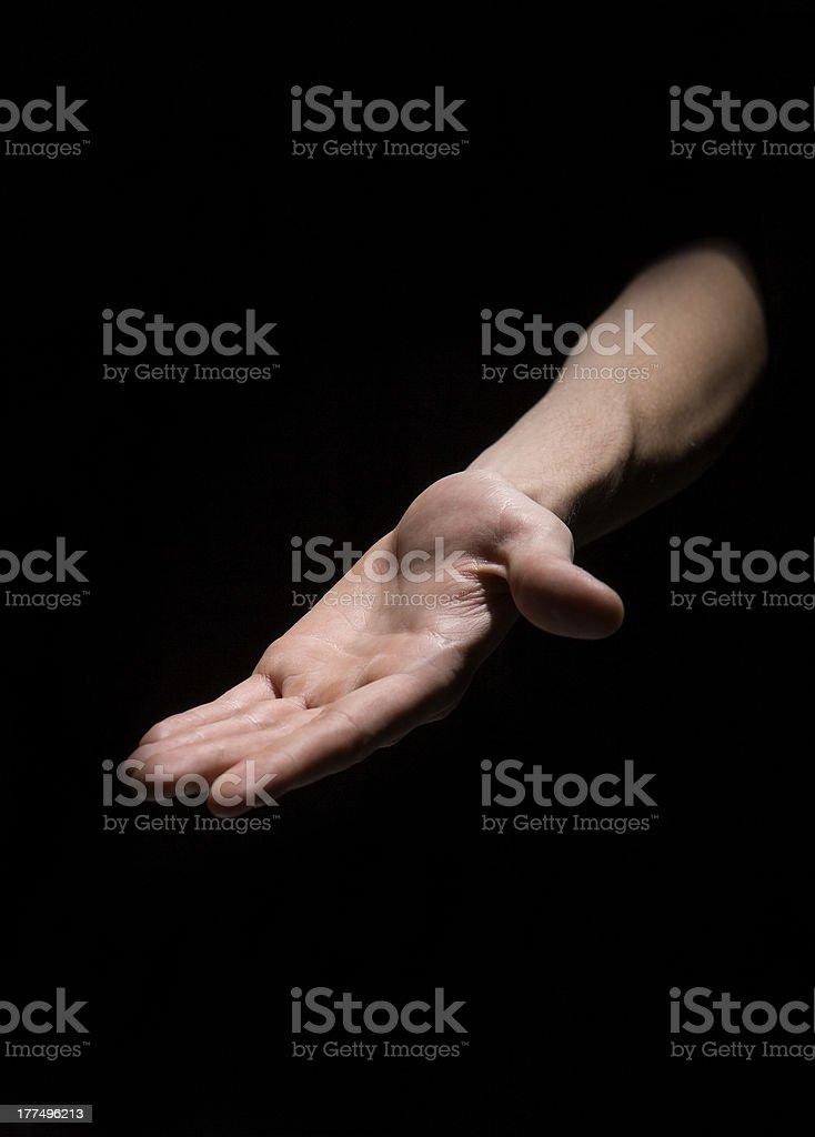 Human Hand royalty-free stock photo