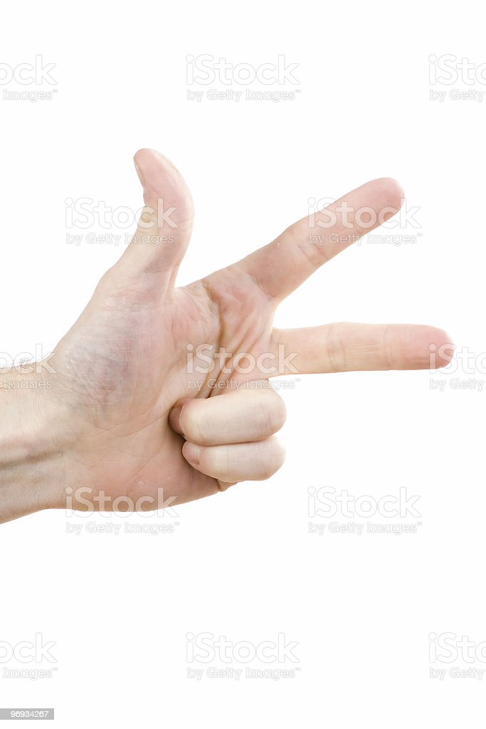 Human hand royalty-free stock photo