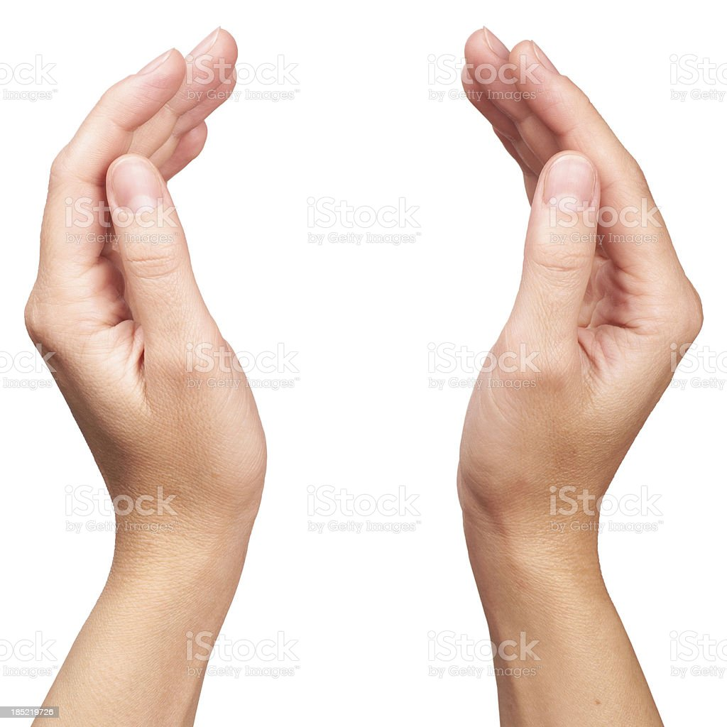 Human Hands stock photo