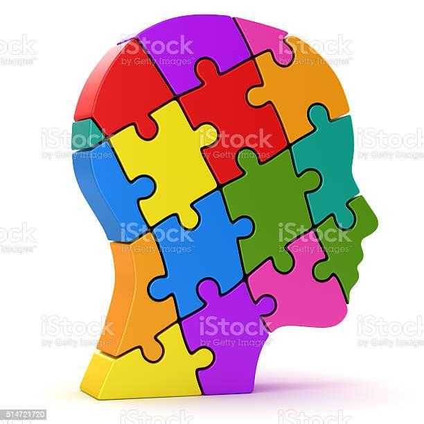 Human head made of colorful puzzle pieces picture id514721720?b=1&k=6&m=514721720&s=612x612&h=oz0ennichh dbbryfodkwfckcgsuhkgrluckzn1fe10=