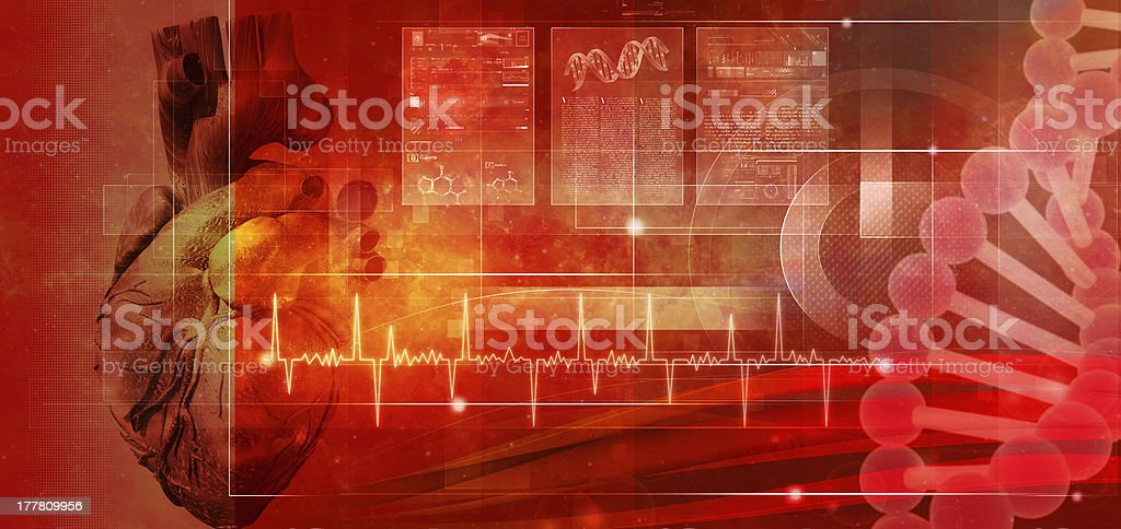 Human health. Abstract medicine and healthy backgrounds stock photo