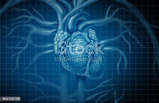 istock Human Heart Background 944104138