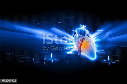 istock Human heart 512207422
