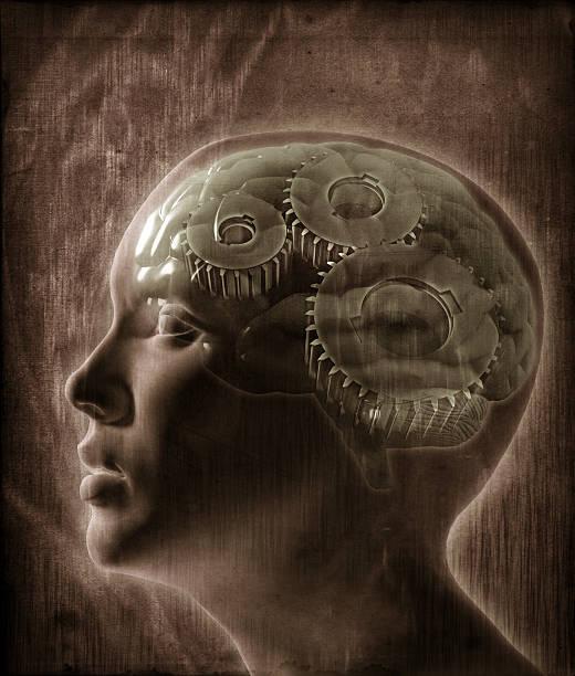 Human intelligence concept stock photo