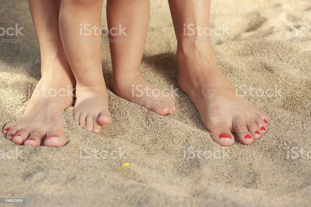 Human legs royalty-free stock photo