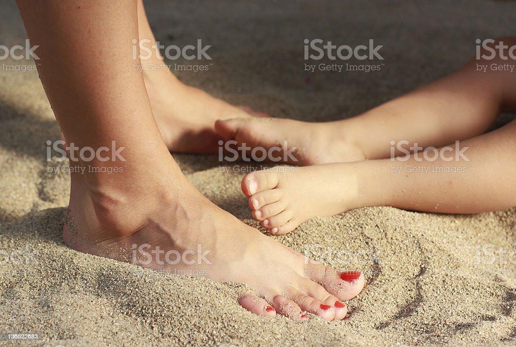 Human legs royalty-free stock photo