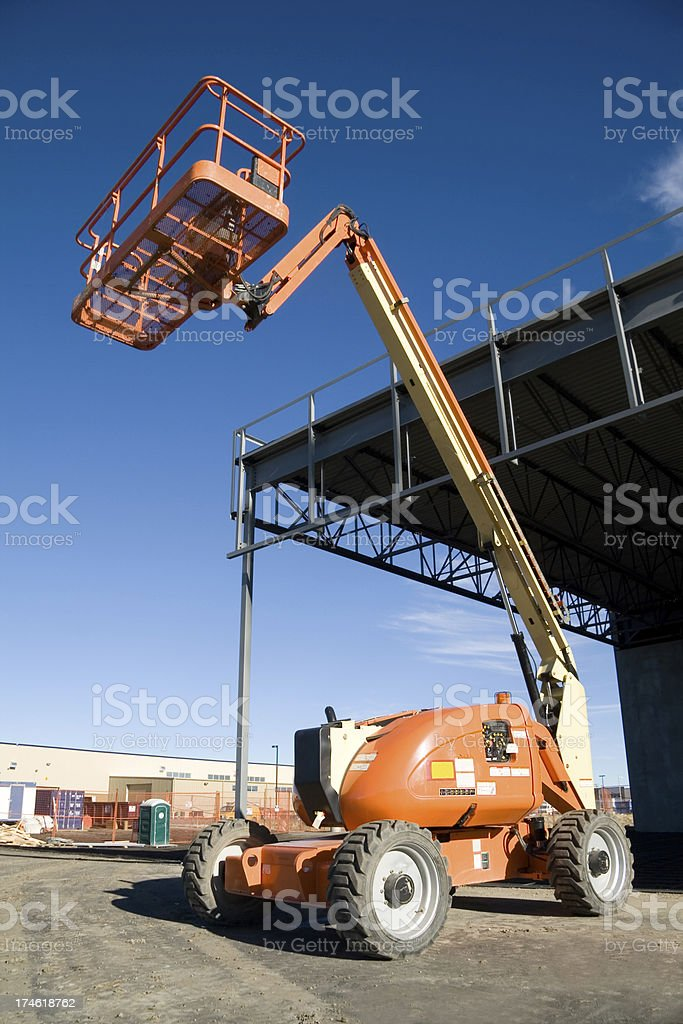 Human Lift stock photo