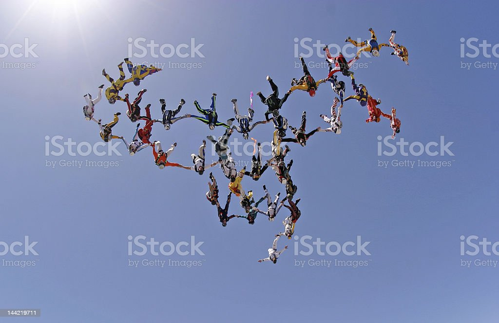 Human Links Connected royalty-free stock photo