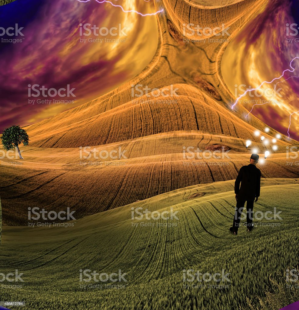 Human Mind stock photo