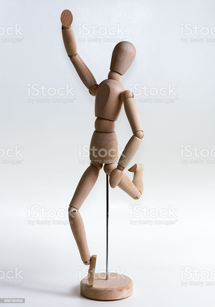 Human Model on a white background stock photo
