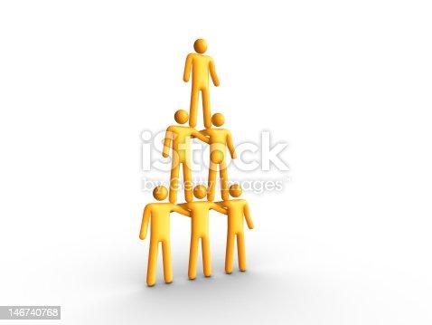 istock Human Pyramid 146740768