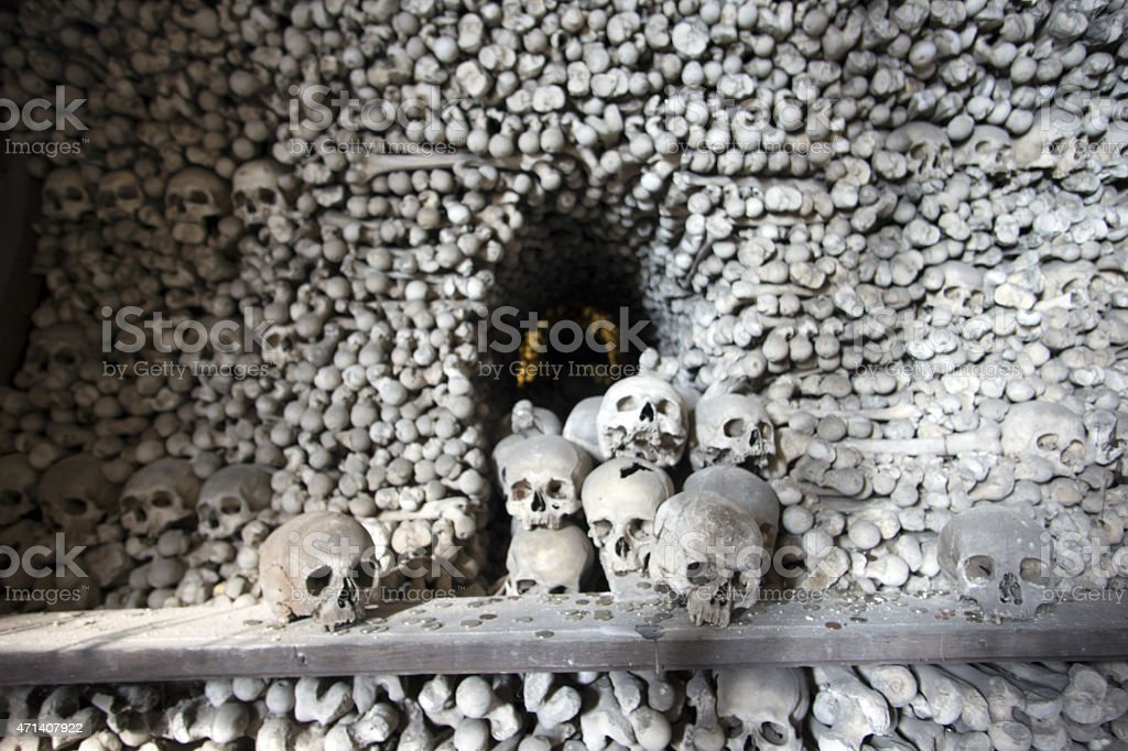Human Remains stock photo