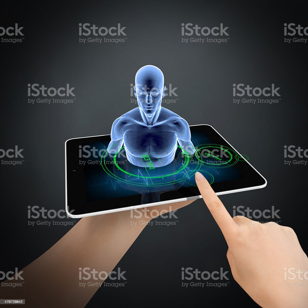 Human Research stock photo