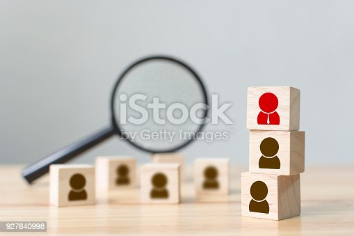 istock Human resource and talent management and recruitment business building team, Personal development of employee in organization, Copy space 927640998