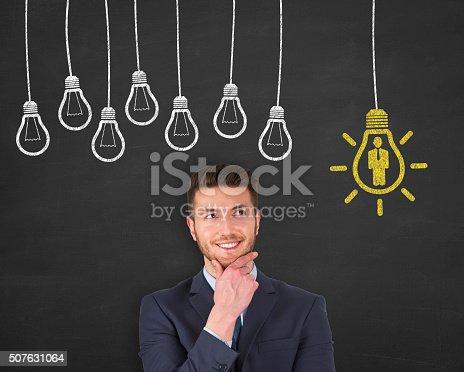 493338692istockphoto Human Resource Concept on Chalkboard 507631064