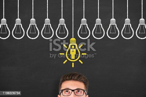 493338692istockphoto Human Resource Concepts on Blackboard Background 1156326734