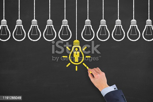 493338692istockphoto Human Resource Concepts on Blackboard Background 1191285049